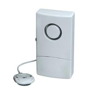 WA03, Wassermelder, Wasseralarm mit ext. Sensor und Piezosirene, 9V Batteriebetrieb
