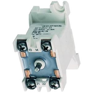 GHG 418 1101 R0002, Drucktaster 2S, 1 Stößel