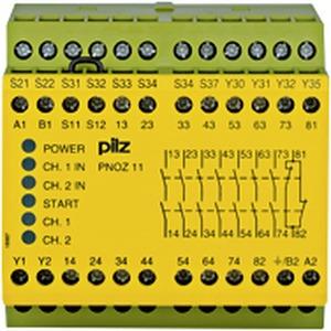 PNOZ 11 24VAC 24VDC 7n/o 1n/c