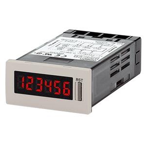 H7GP-TD, Zähler - Betriebsstundenzähler, 6-stellig, 48x24mm