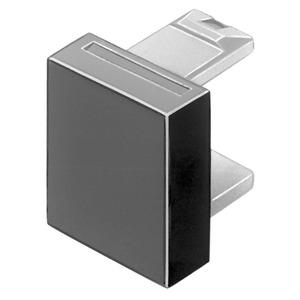 Druckhaube rot flach 12.8x12.8  Ks transparent