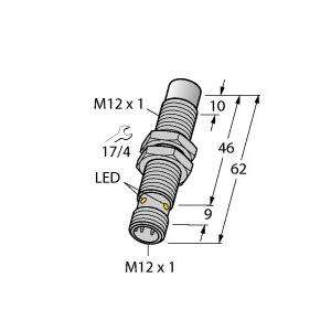 NI8U-MT12E-VP4X-H1141, Induktiver Sensor, uprox®