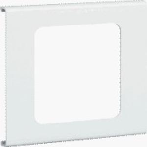 Blende 1-fach R18 PVC FB OT 230 cweiß