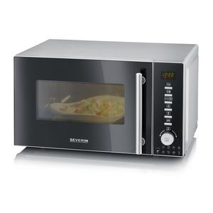 Mikrowelle 800W mit Grill- und Heißluftfunktion 3-in-1