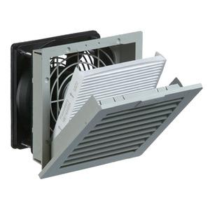 PF 22.000 230V AC IP54 RAL7035, 4. Gen.-Filterlüfter 61 m³/h PF 22.000 230V AC IP54 RAL7035