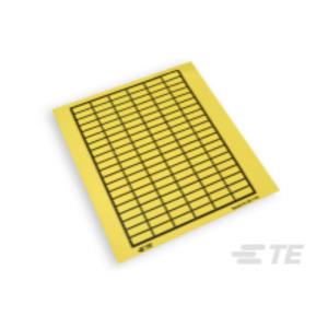 TEK1119-N, Etiketten Gewebe zur Handbeschriftung in Taschenpackung, 11 mm x 19 mm, gelb