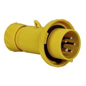 CEE Stecker, Schneidklemmen, 16A, 3p+N+E, 100-130 V AC, IP67