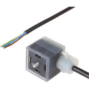 kabeldose 3m,3x0,5mm²,Ventil,Bauf.A