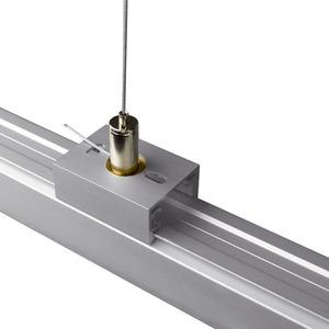 L 23/3000, Anbau-Stromschiene Drahtseilabhängung 3m weiß