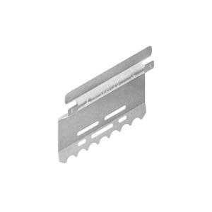 LST 80 E3, Stoßstellenverbinder mit Flachstecker, für Höhe 80 mm, Edelstahl, Werkstoff-Nr.: 1.4301, 1.4303