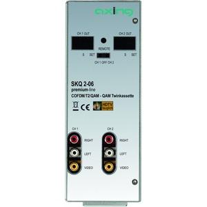 Modulatorkassette, Twin, QAM, 2 x COFDM, QAM, 2 x CI-Steckplatz