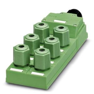 SACB-6Q/4P-L-SC, Sensor-/Aktor-Box-SACB-6Q/4P-L-SC