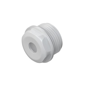 485M25, Dichtungsnippel, M25, für Kabel-Ø 11-17 mm, Kunststoff PE, RAL 7035, lichtgrau
