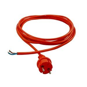 PUR 1005, konfekt. Anschlussleitung Kabel H07-BQ-F 3x1,5mm², Länge 5m