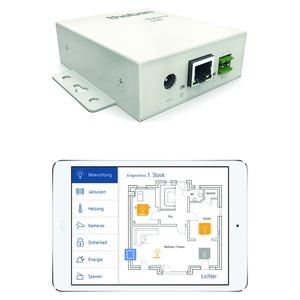 theServa S110, KNX Visualisierung zur Steuerung der Gebäudeautomation