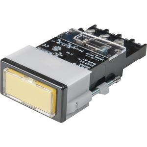 Leuchtdrucktaste R SP 2U SCH 24x48 Ag
