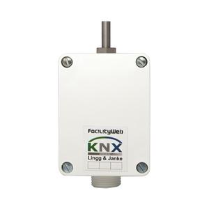 KNX DIGITEMP Feuchtraum-Temperaturfühler;