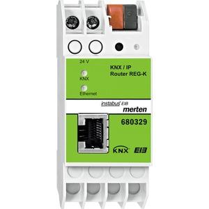 KNX/IP-Router REG-K, lichtgrau