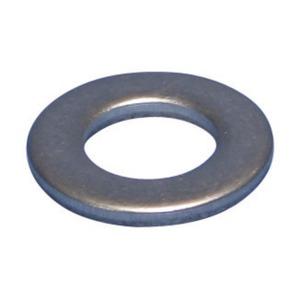 01108EG, Flache Unterlegscheibe, Stahl, EG, 8,4 mm (0,331) Loch