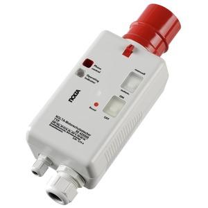 80 425506, Motorschutzstecker CEE 16A mit Schütz und Motorschutzrelais, Phasenwender und Drehfeldkontrolle