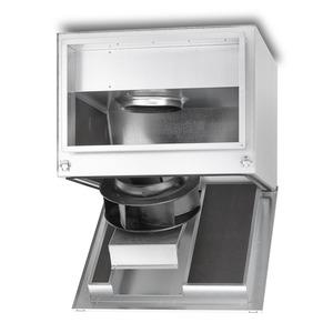 SKRD EC 500/80/50 B, SKRD EC 500/80/50, SILENT Kanalventilator EC, schallgedämpft, 3-PH 380-480V 50/60Hz regelbar