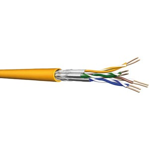 UC1200 HS23 C7A S/FTP 4P LSHF 1000DW, Kat 7A S/FTP simplex gelb 1000m