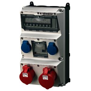 930013, Steckdosen-Kombination AMAXX elektrograu, 930013