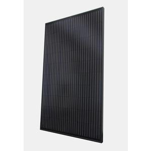 ASM6610M (Full Black), 300W, monokristallin, 60 Zellen, schwarzer Rahmen/schwarze Folie