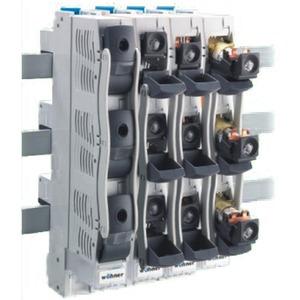 D0-Reiter-Lasttrennschalter mit Sicherungen für D01 und D02-Sicherungen E18 / 63 A / 3P