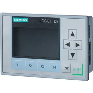 6ED1055-4MH08-0BA0, LOGO! TD Text Display, 6-zeilig, 3 Hintergrund-Farben, 2 Ethernet Ports, Einbauzubehör für LOGO! 8