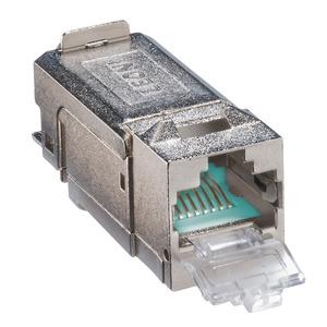 MEGALINE CONNECT45 PRO BUCHSEN, MegaLine Connect45 PRO, Kat.6A Buchse (ISO/IEC), geschirmt, VPE=50 Stk.