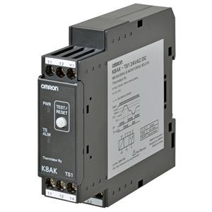 K8AK-TS1 100-240VAC, Überwachungsrelais 22.5mm, Temperaturüberwachung, 100 to 240 VAC, 1 Wechsler
