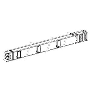 KSA630ED4306, KSA gerades Element, 630A, 3m, 6Abgänge
