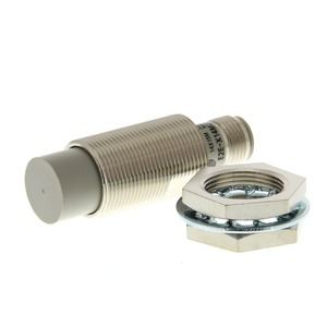 E2E-X14MD1-M1G, Näherungsschalter, induktiv, M18, nicht abgeschirmt, 14 mm, DC, 2-adrig / Schließer, M12 Stecker