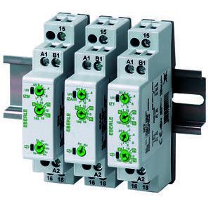 IZA/R, Installationszeitrelais UC 24-240 V, 1We, 5 A,  Zeitbereich: 0,05 sec....100 Std