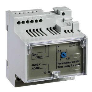Nicht-einstellbares Zeitrelais für Spannungsauslöser MN, 100/130 V AC/DC