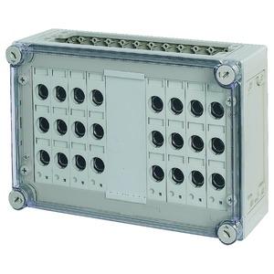 RS18/I43-125, Sicherungskasten, 8x3xE18, HxBxT=250x375x150mm