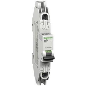 Leitungsschutzschalter C60, UL489, 1P, 10A, D Charakt., 480Y/277V AC