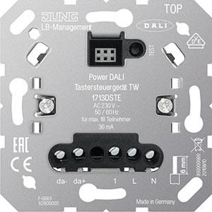 1713 DSTE, Power-DALI-Taststeuergerät TW, Einsatz