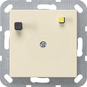 FI-Schutzschalter 30 mA System 55 Cremeweiß