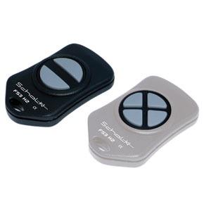 FS3 H2, Mini-Funk-Handsender 2- oder 4-Kanal 3V DC inkl. Batt.