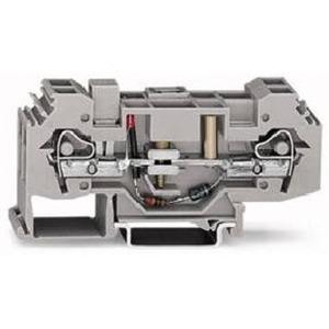 Erdleiter-Trennklemme 230 V 6 mm² grau