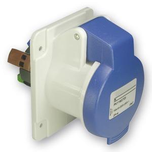 CEE Anbausteckdosen Schneidklemmen, 16A, 3p+N+E, 200-250 V AC