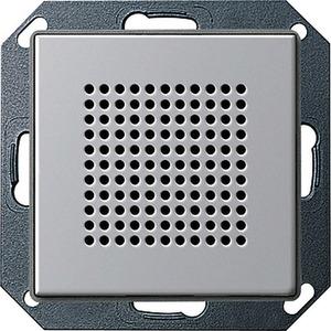 Lautsprecher UP-Radio RDS Gira E22 Aluminium