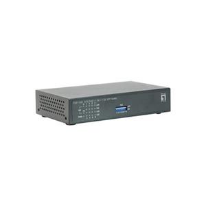 FGP-1000, 8 FE PoE + 1 GE + 1 GE SFP Switch,120W