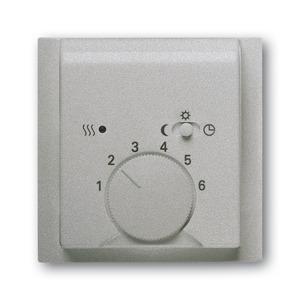 1795-783, Zentralscheibe, alusilber, impuls, Bedienelemente für Raumtemperaturregler