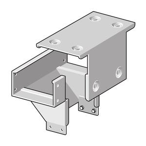 WTDA 150/100 S, Wende-T-Stück Deckel außen
