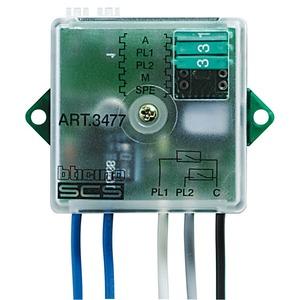 Tasterschnittstelle 2-fach, für Anschluss potentialfreier Kontakte ans BUS-System, 2 Eingänge, 41 × 41 × 19 mm