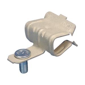 4H24IM11, Flanschklipp zum Aufschlagen, vertikale Montage mit Gewindestift, 3–8 mm (0,12–0,31) Flansch, M6 Schraube
