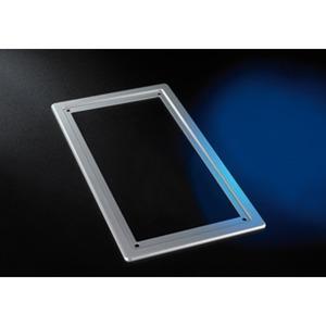 UP-Abdeckrahmenfür Premium TFE silber, Abdeckrahmen (Kunststoff) für die Premium TFE 1 und 2, nur notwendig bei der Unterputzmontage (Überdeckung des Wandeinschnittes)